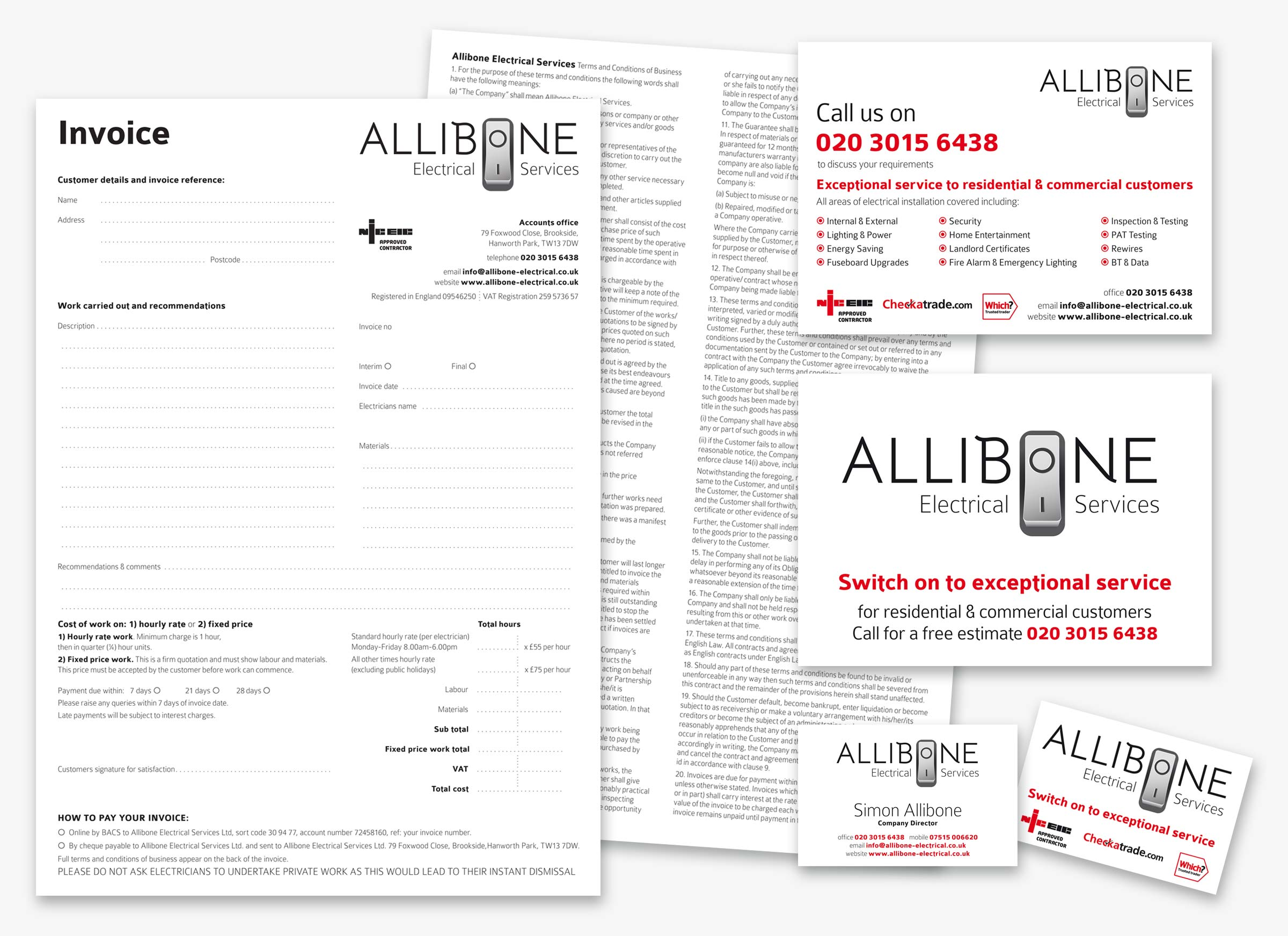 Allibone stationery