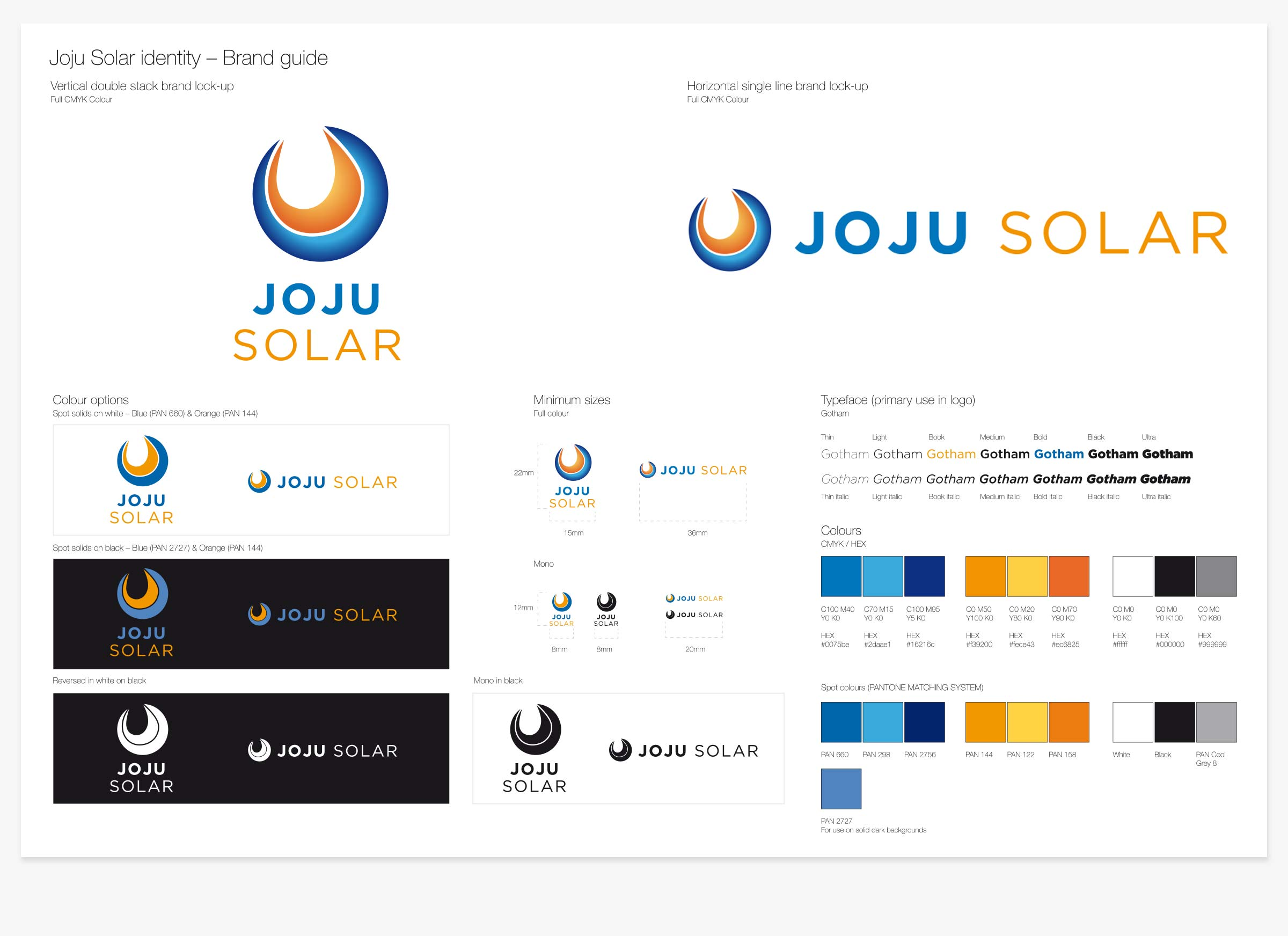 Joju Solar guideline document