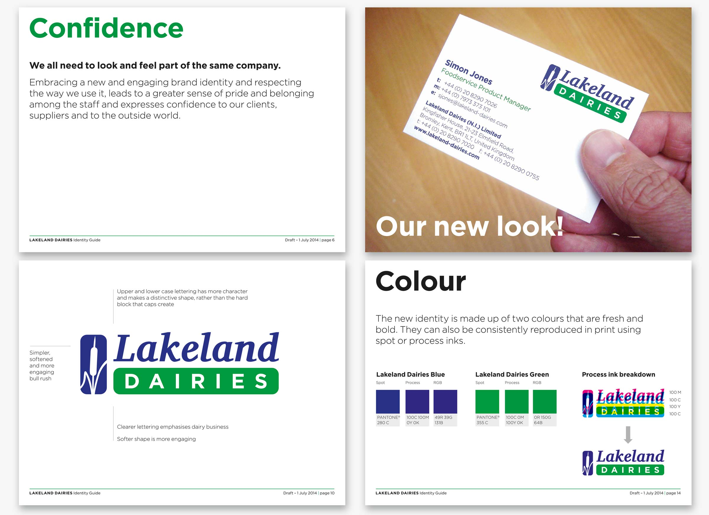 Lakeland Dairies brand guidelines
