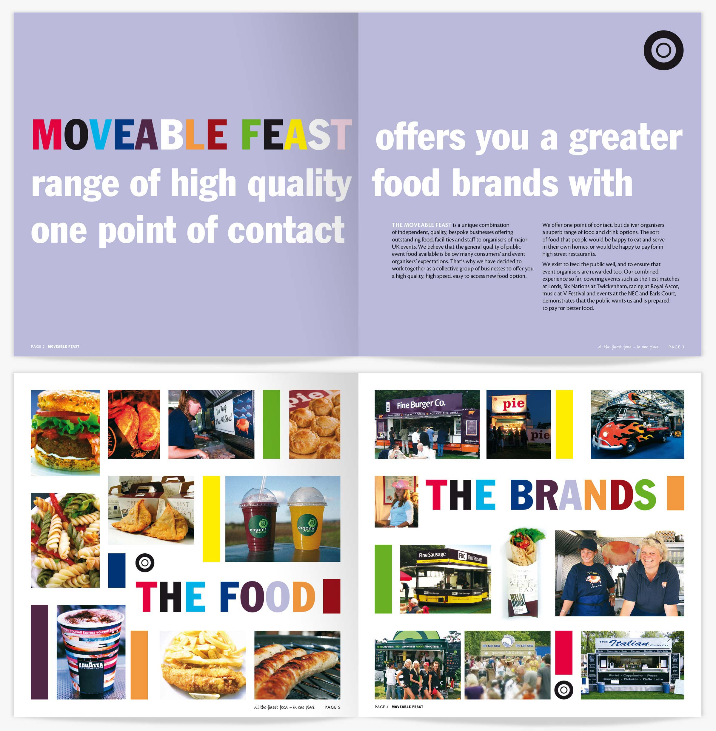 Moveable Feast brochure