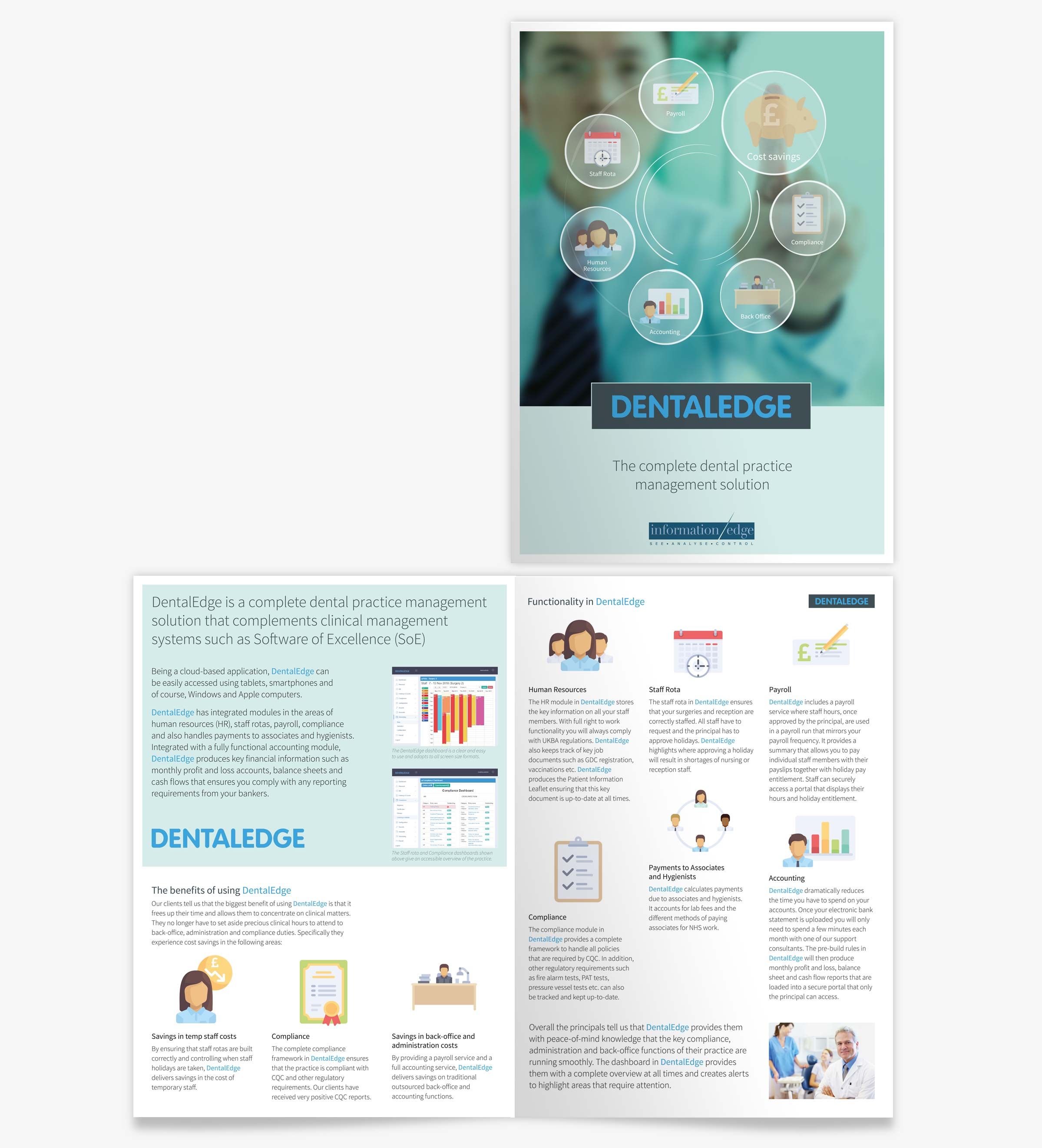 Information Edge DENTALEDGE brochure
