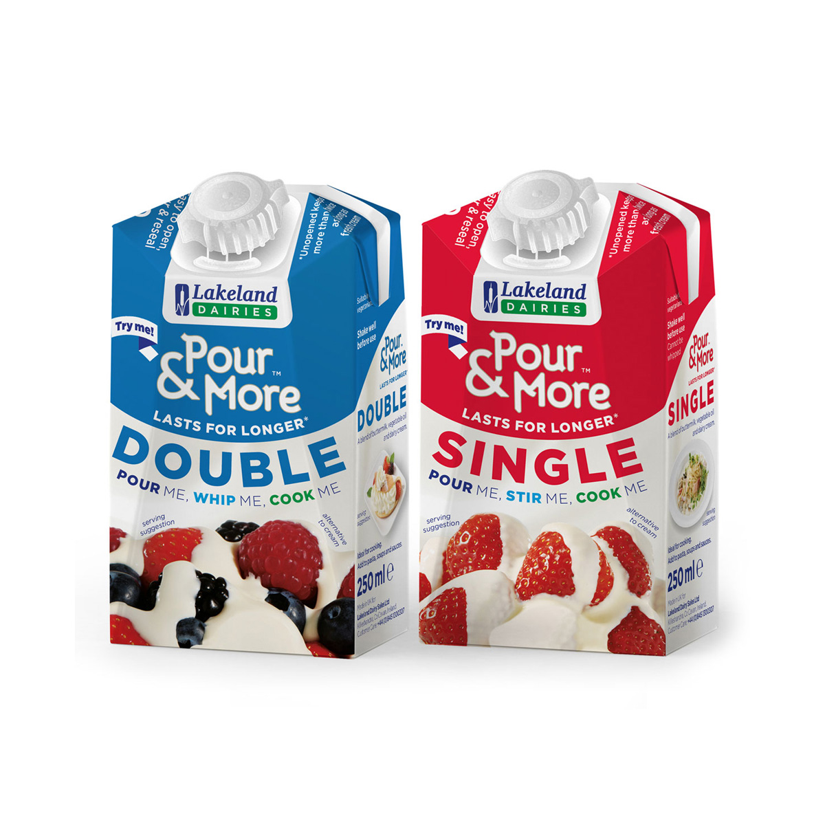 Lakeland Dairies Pour & More