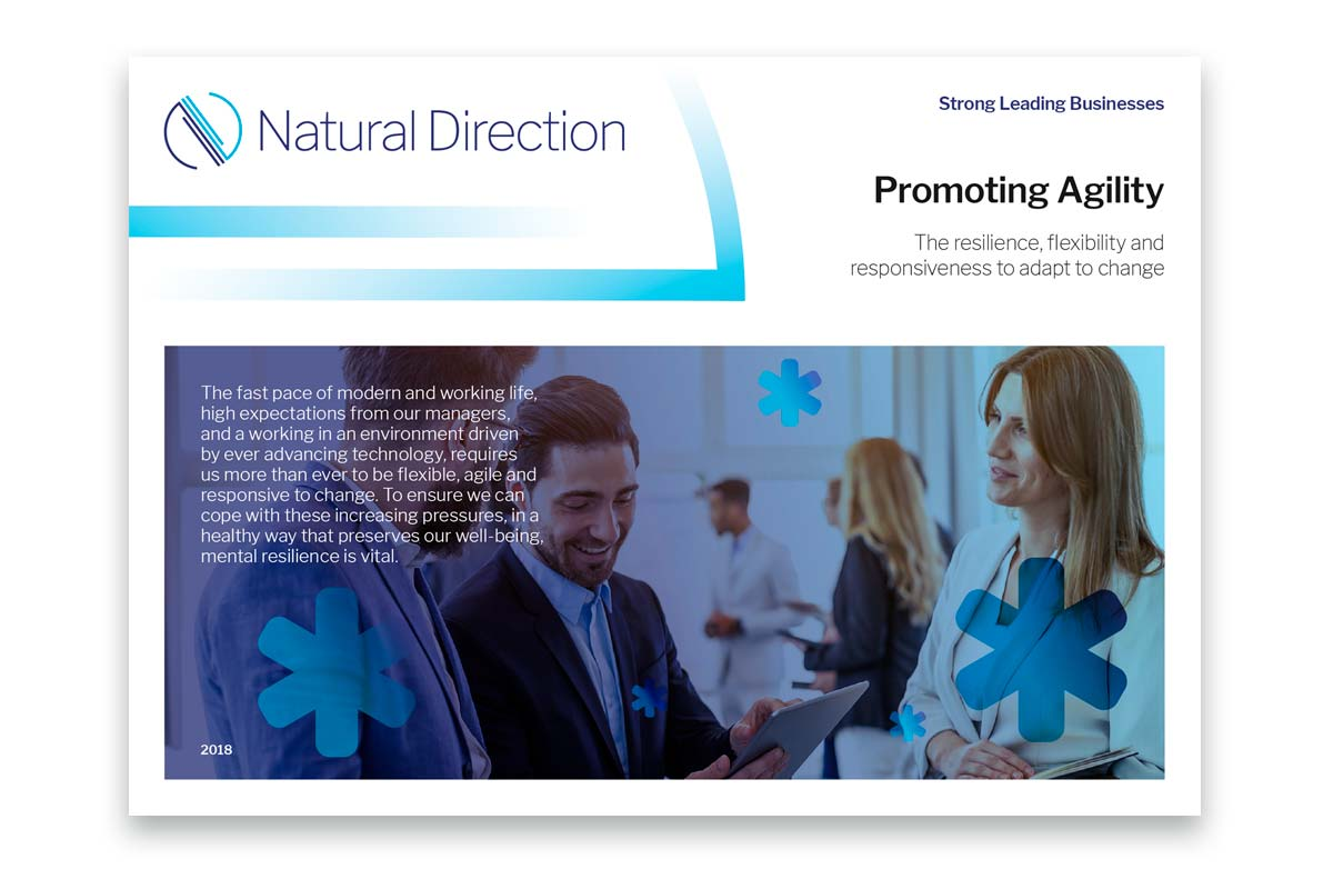 Natural Direction brochure suite